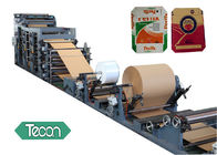 Moisture Protection Multi Plies Paper Bag Forming Machine PP Film Lamiated