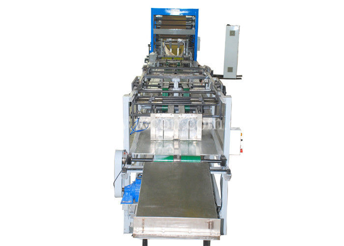 Full Automatic Bottom Sealing Bag Making Machine High Speed Rotary Feeder